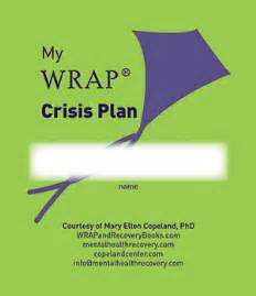 mental health crisis management plan template my wrap crisis plan