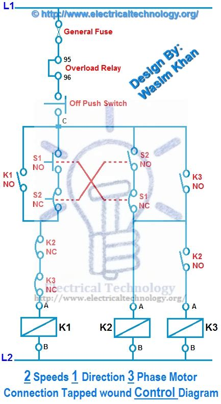 two speed motor wiring diagram 3 phase wiring diagram