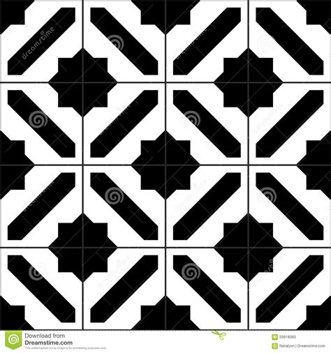 pattern tiles black and white black and white simple moroccan tiles seamless pattern