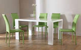 Modern Chairs For Dining Table Modern Dining Room Tables And Chairs Trellischicago