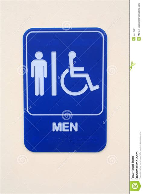 mens room sign s room sign stock images image 9234084