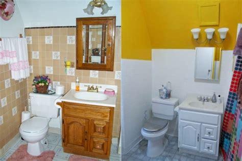 badezimmerrenovierung vor und nach 50 originelle ideen wie sie die fliesen streichen