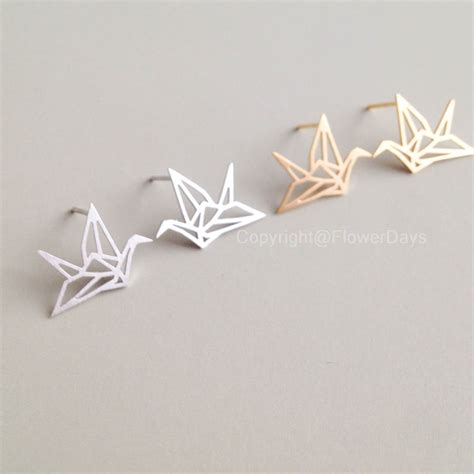 Origami Crane Jewelry - origami crane necklace on storenvy
