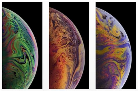 iphone xs max wallpapers  bubbles
