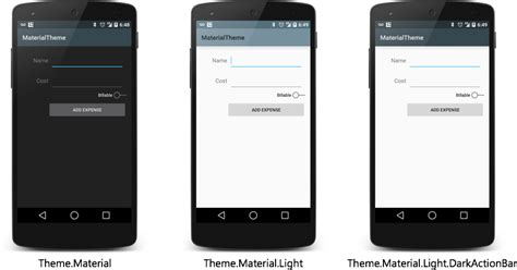 material design themes android introduction to android material design xamarin blog