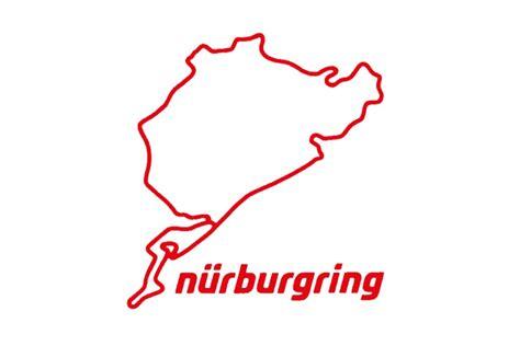 nürburgring n 252 rburgring aufkleber n 252 rburgring 8cm