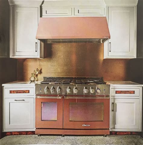 copper colored appliances ask maria are stainless appliances going out of fashion