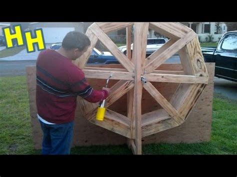 Backyard Water Tower How To Build A Wood Water Wheel For An Old Western Mining