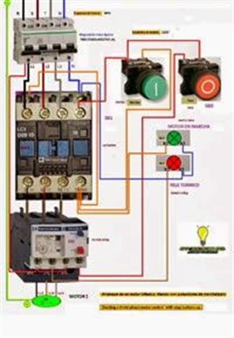 un contactor a botoneras esquemas el ctricos apexwallpaperscom esquemas el 233 ctricos trifasico marcha y paro esquemas