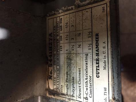 cutler hammer wiring  sb  motor