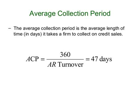 Average Credit Days Formula Ratio Analysis