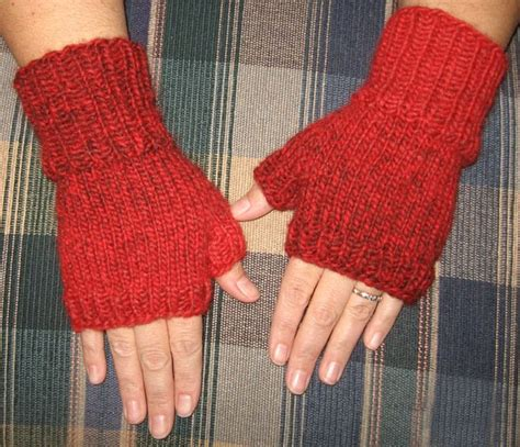 free knitting patterns for fingerless gloves inspired free pattern fast easy fingerless mitts