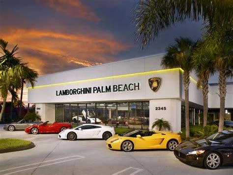 lamborghini dealership lamborghini palm palm fl 33409 4001