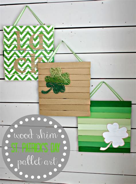wooden st s day crafts easy wood shim pallet view from the fridgeview from the fridge