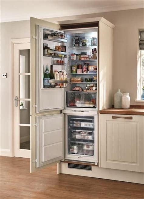 aeg integrated  frost  fridge freezer