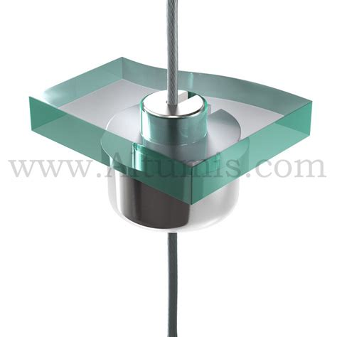 Shelf Support Systems by Pierced Shelf Support Cable Display Systems