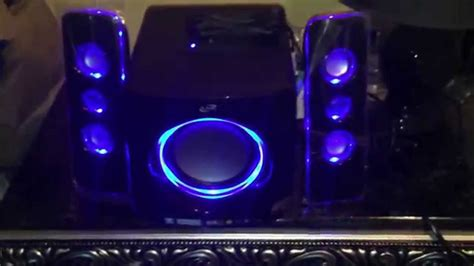 ilive blue under music system ilive blue bluetooth speakers at f y e youtube