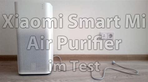 luftfilter im test xiaomi smart mi air purifier gegen feinstaub