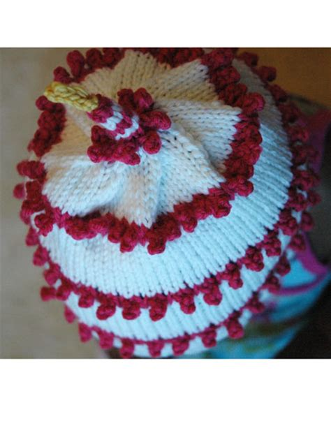 knitted birthday cake pattern year birthday cake hat knitting patterns and