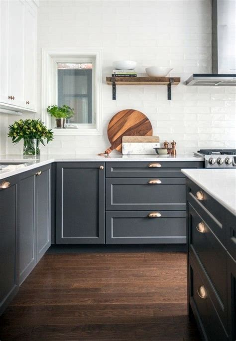 black bottom cabinets painted kitchen cabinets