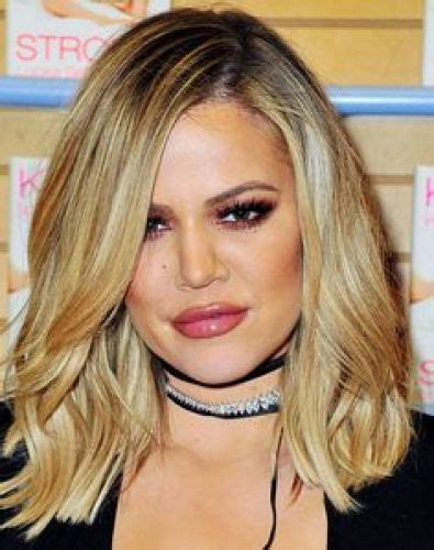 lob hair styles for oval face shapes 11 khloe kardashian hair dash over to ombre long bob
