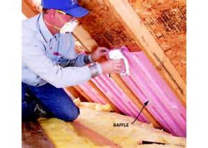 attic insulation project diy