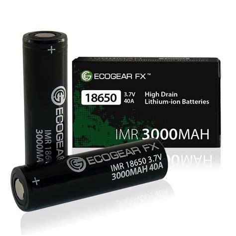 Baterai Vaping Power 3000mah 40a 18650 imr high drain 18650 rechargeable batteries flat top 3000mah