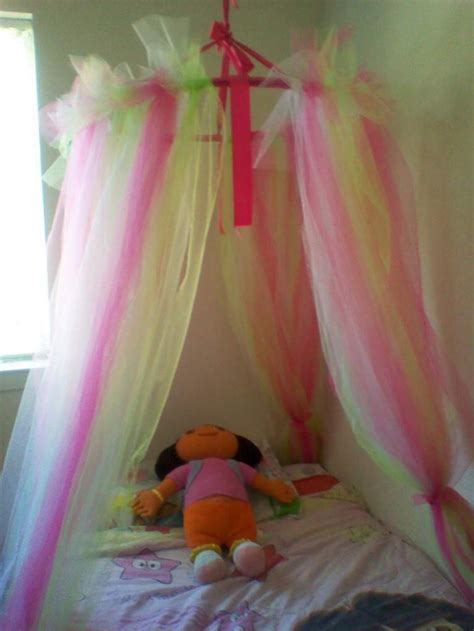 make a bed canopy best 25 tulle canopy ideas on pinterest bed canopy