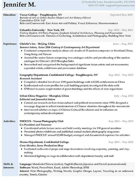 Sample Resume Format With No Experience by Resume Samples Types Of Resume Formats Examples Amp Templates