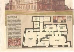 downton basement floor plan highclere castle