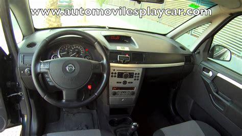 opel meriva 2006 interior automoviles playcar almeria opel meriva 1 7 cdti a 241 o 2005