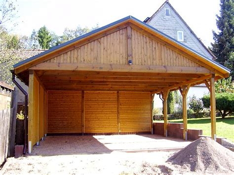 carport holz bauanleitung carport satteldach i solar 600x600cm kvh holz ebay