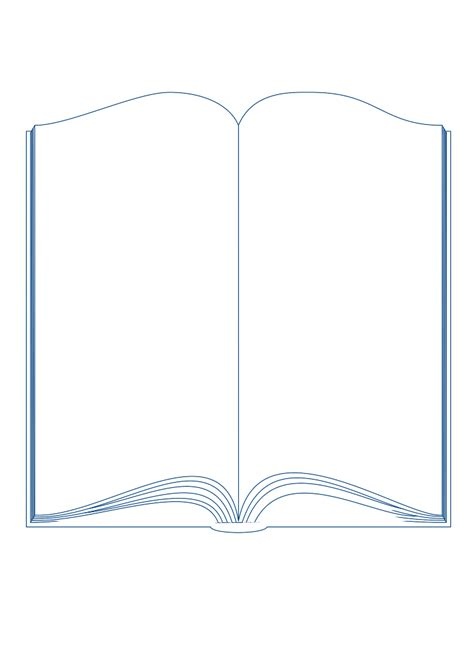 word book template print book cover template for word