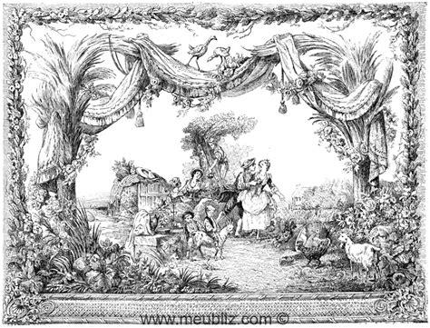 Tapisserie De Beauvais by D 233 Finition De La Tapisserie Et Manufacture De Beauvais