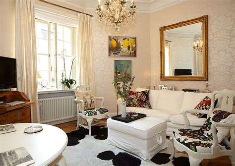 apartment interior decorating charming small apartment with lovely alcove in stockholm