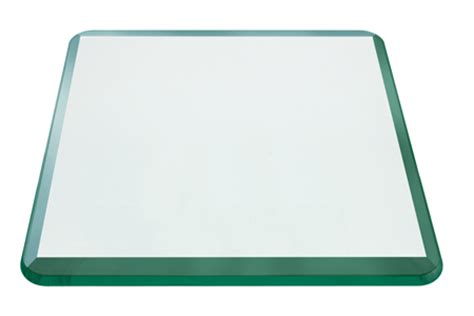24 inch square table top 24 inch square glass table top 1 2 inch bevel