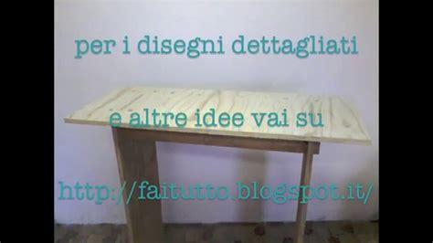 tavolo smontabile tavolo smontabile fai da te