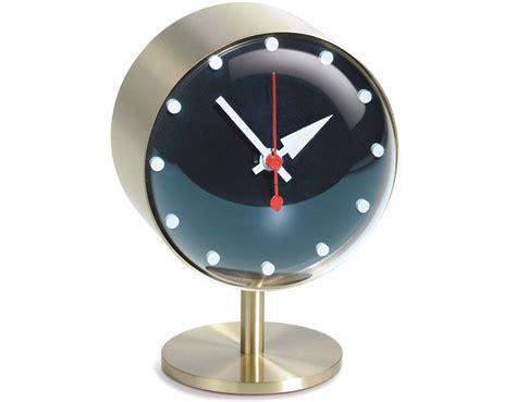 George Nelson Night Desk Clock Hivemodern Com Modern Desk Clock