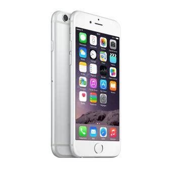 apple iphone 6 64 go 4 7 argent smartphone achat prix fnac