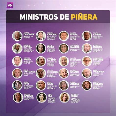 gabinete de la presidencia del gobierno estos son los 23 ministros del gabinete de sebasti 193 n