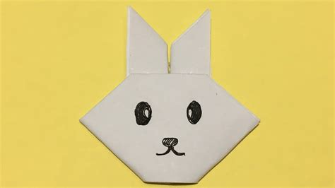 Simple Origami Rabbit - origami origami challenge paper rabbit inspired by to the