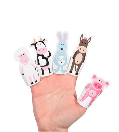 Finger Puppets With Paper - the world s catalog of ideas