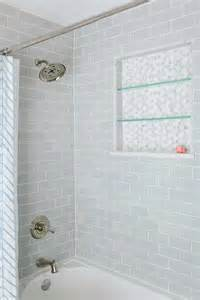 White Tiled Bathroom Ideas Bath Shower Tiles Bath Shower With Gray Subway Tiles