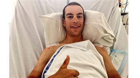 Richie Hospitalized by Richie Porte Upbeat About Recovery As Tour Rolls On