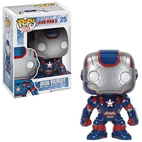 dc comics action figures toys bobble heads funko pop iron man 3 iron patriot vinyl bobble head action