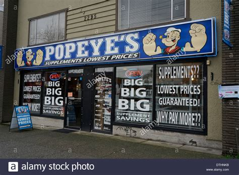 supplement store popeye s vitamin and supplement store vancouver bc