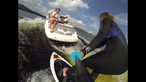 wakesurf jet boat youtube wakesurfing behind a jetboat with a gopro youtube