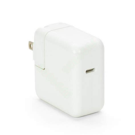 apple usb c power adapter usb 3 1 type c usb c 29w ac power adapter usbc charger for