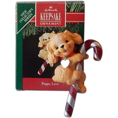 puppy hallmark hallmark keepsake puppy ornament 1991 from colemanscollectibles on ruby