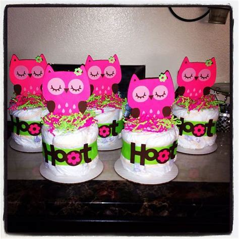 Owl Baby Shower Centerpieces by Owl Cake Minis Baby Shower Gifts Birthday